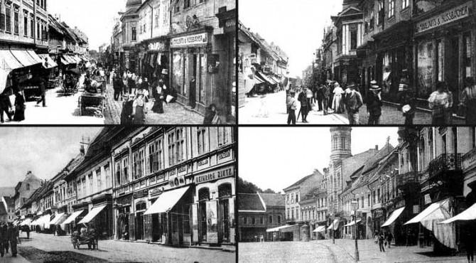 Primii clienţi ai paginilor de publicitate ale ziarelor braşovene au fost proprietarii de prăvălii